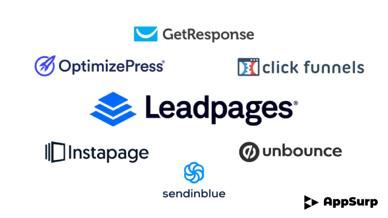 leadpages alternatives sales funnel software