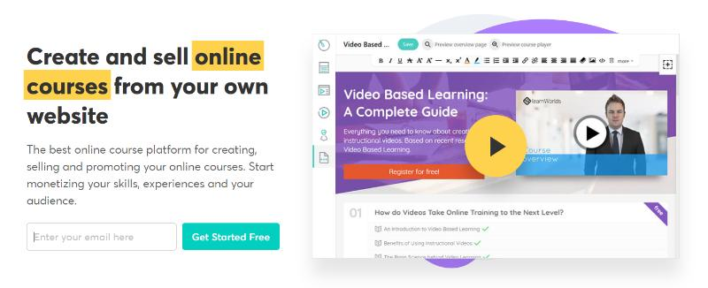 learnworlds online course platforms